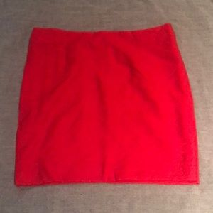Red skirt - Gap - size 4